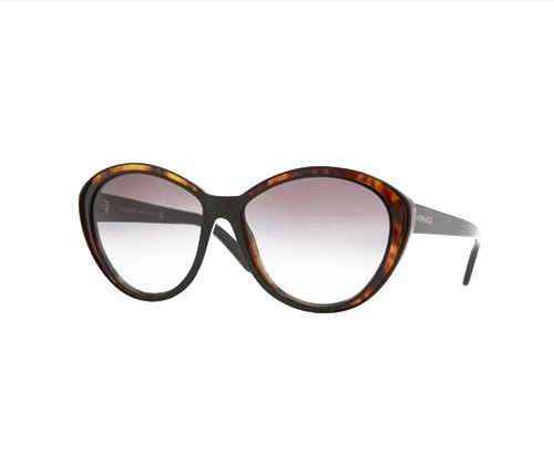 Versace 4203 Sunglasses Black and Havana